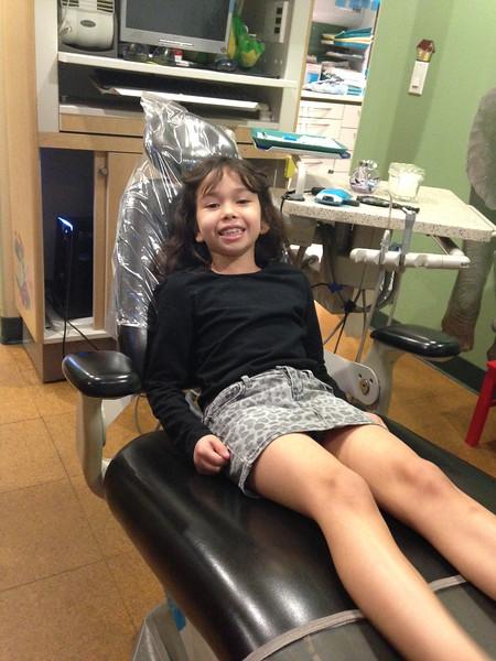 1/06 - At the dentist