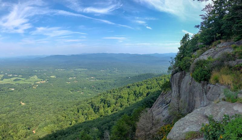 Yonah Mountain  (4.5 miles; d=7.50)
