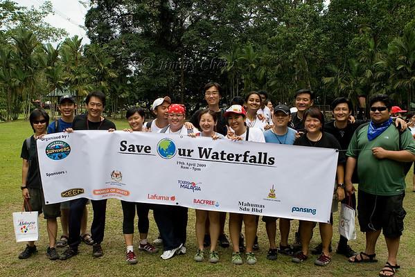 Kanching Waterfalls Clean-Up 2009