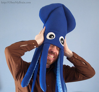 Large Squid Hats