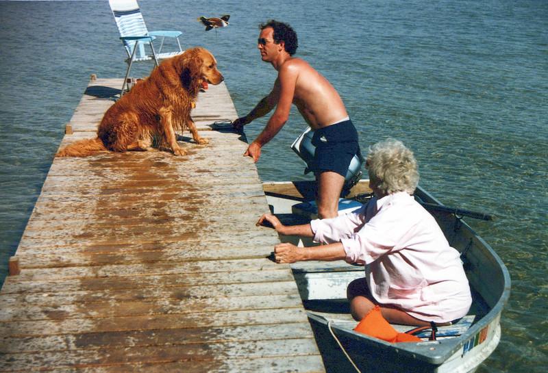 1985 Fred dog, Kris and Vivian.jpeg