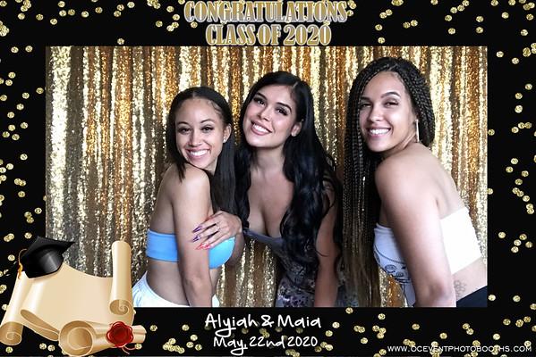 Alyiah & Maia's Graduation 05/22/20