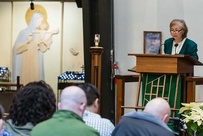 Jan 18, 2015 - 11:30 am Mass by Fr. Dave Gese