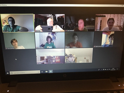 Zoom virtual meetings