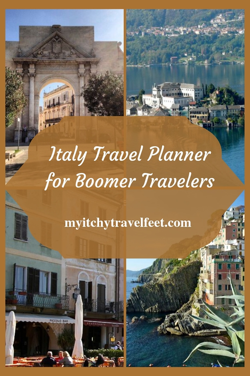 Italy travel planner for boomer travelers