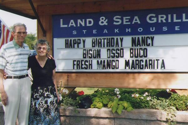 2003 - Nancy Birthday