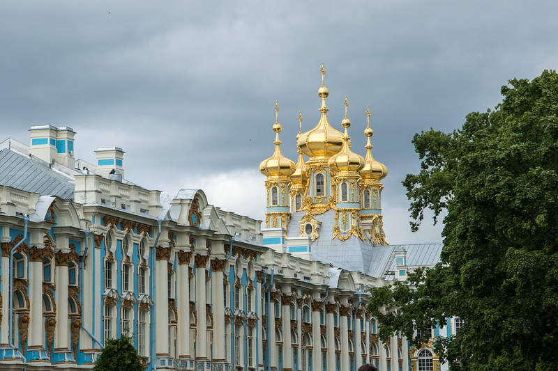 Katherine's Castle, Pushkin, Russia