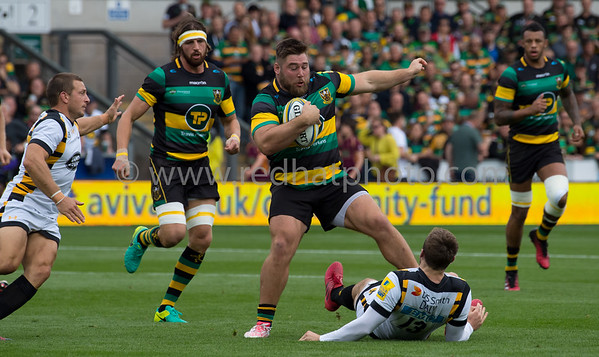 Northampton Saints vs Wasps, Aviva Premiership, Franklin's Gardens, 24 September 2016