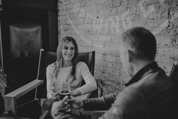 Mallory + Scott | Brewery + Beach Session | Milwaukee