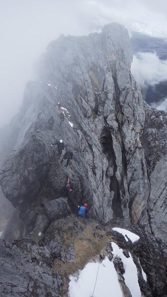 …more climbing…