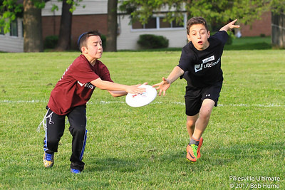 Pikesville Youth Ultimate May 17, 2017