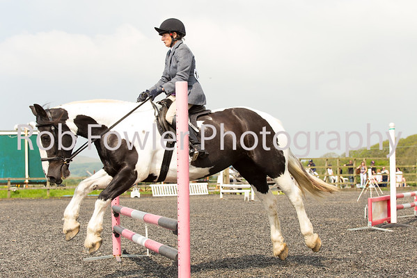 Sarah Punnett riding Maisey
