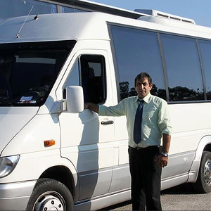 90110 Private transport by mini bus 10 seater