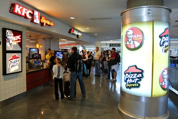 KFC Express/Pizza Hut Express, A Gates Center Core