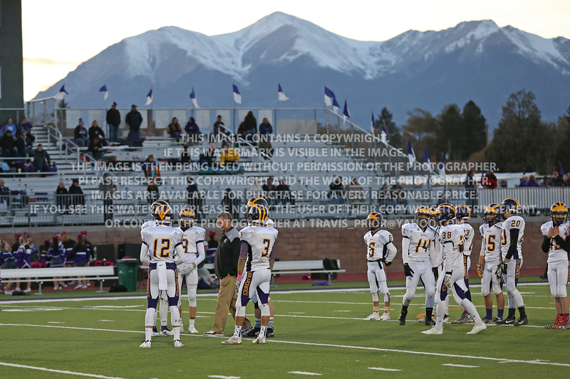 October 26, 2018 Bayfield High School Varsity Football vs Salida