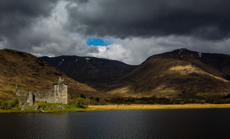 Kilchurn Castle - Loch Awe - Argyle & Bute, Scotland (April 2018)