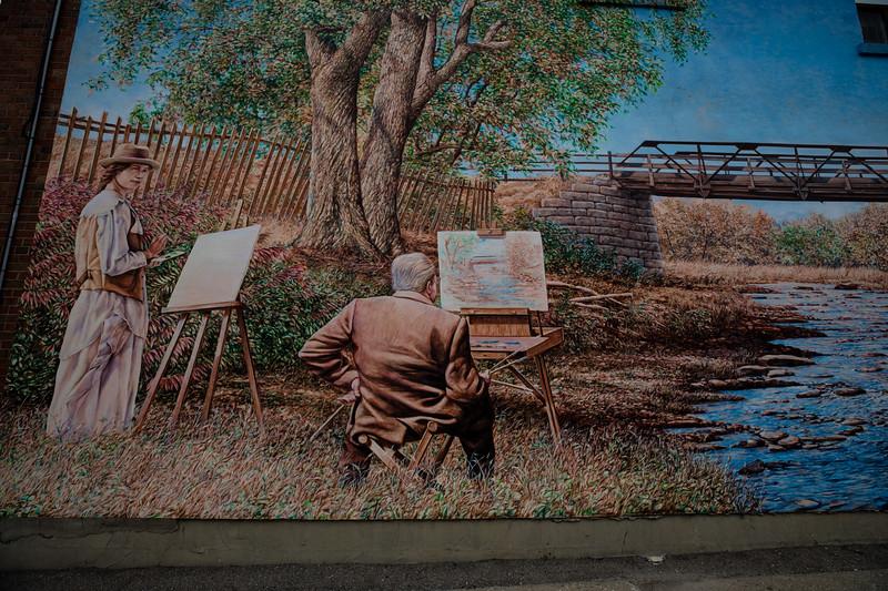 """Mimico Creek In Fall, ca. 1920"""