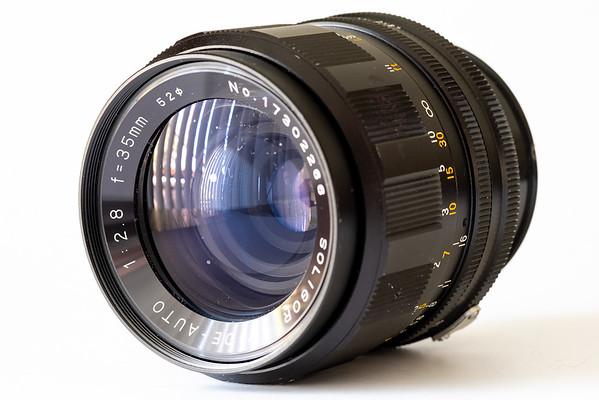 Soligor Wide-Auto 35mm f/2.8