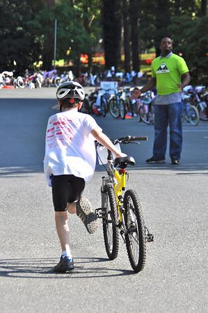 JUST TRYAN IT Kids Triathlon 6-17-2012 Bike
