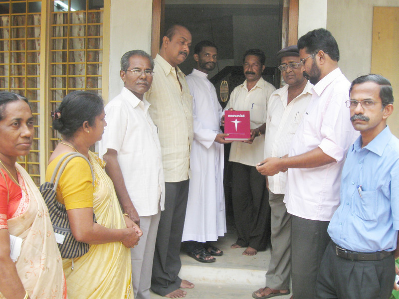10 09-08  India Dedication in honor of Millard Fuller Legacy.  THL