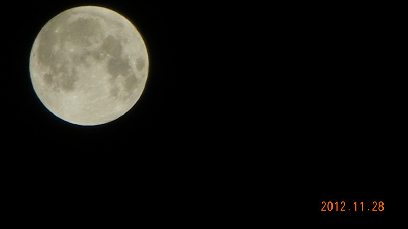 More Moon 2012/11/28
