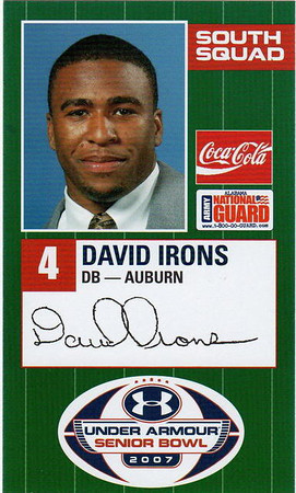 2007 - David Irons