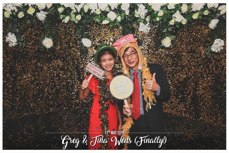 Wedding of Gregory & Christina   © www.SRSLYPhotobooth.sg