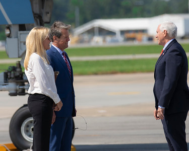 5.22.2020 Greeting Vice President Pence
