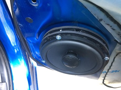 2009 Mitsubishi Lancer GTS Front And Rear Door Speaker Installation - USA