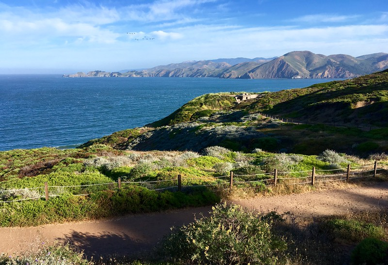 Over the Battery to Bluffs Trail