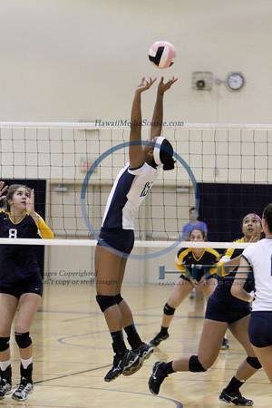Kamehameha Girls Volleyball - Pun 10-24-13