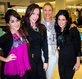 Fashion's Night Out at Saks Fifth Avenue in Huntington Station, NY on September 6, 2012