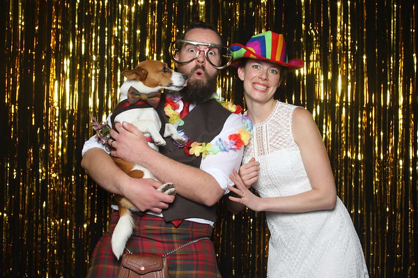 Photo Booth Hire - Mr & Mrs Currie