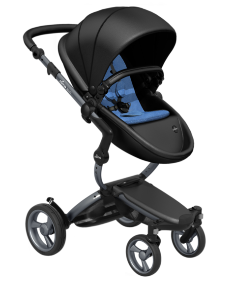 Mima_Xari_Product_Shot_Black_Flair_Graphite_Chassis_Denim_Blue_Seat_Pod.png