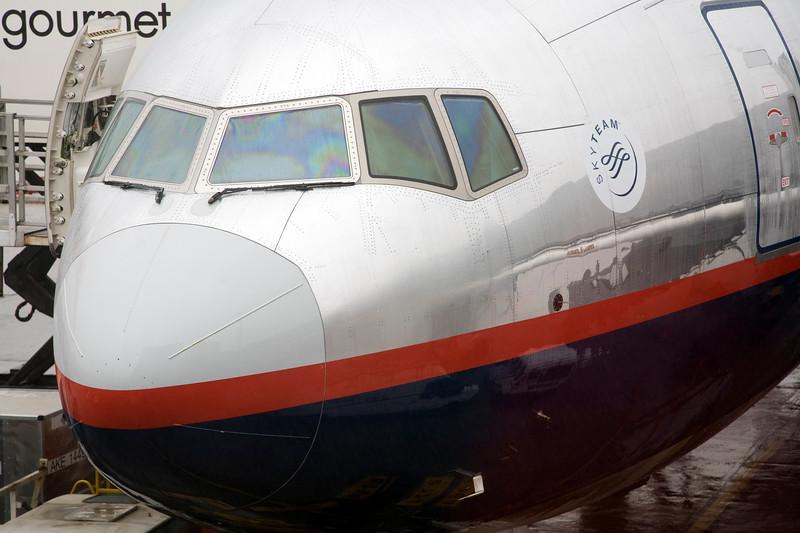 Airplane nose