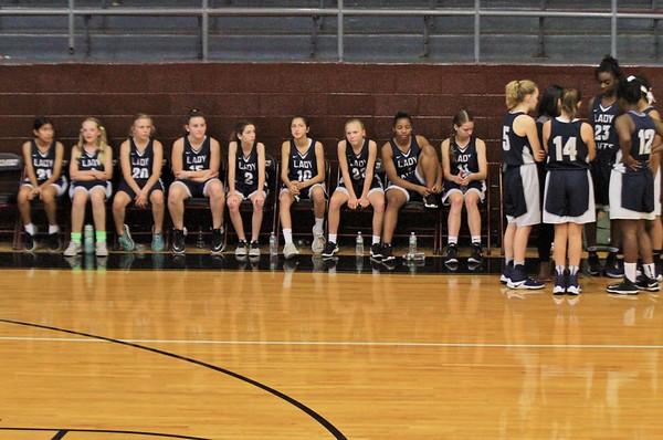 2017-10-31 Lady Saints Basketball
