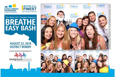 Cystic Fibrosis Foundation Breathe Easy Bash 2018 Photo Booth