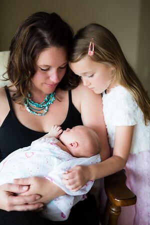 Vicksburg Lifestyle Newborn Big Sisters Portraits C Tinsley