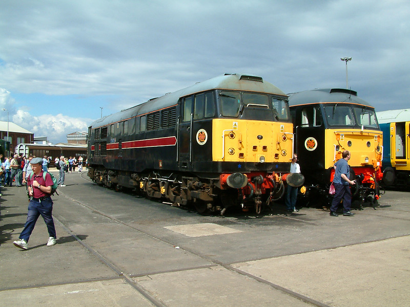 31106 at Doncaster Works on the 26th July 2003