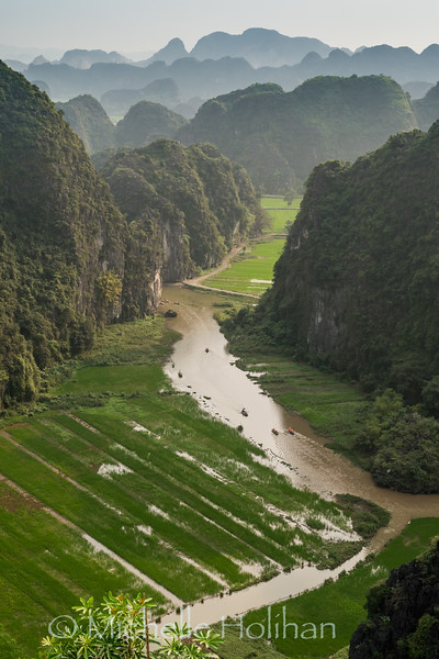 Tam Coc Valley from Hang Múa, Ninh Binh, Vietnam