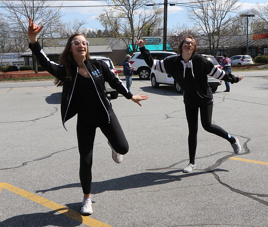 Dance studio parade in Billerica