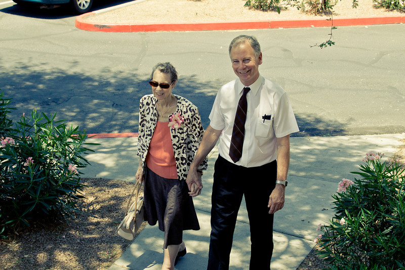 Returning from Church, May 2012, Phoenix, AZ