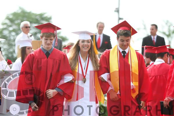 05-30-15 BHS Graduation - Recessional