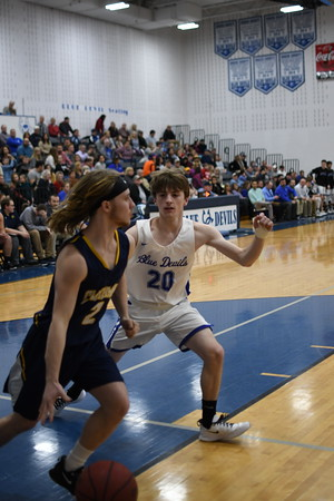 UCHS Blue Devil Basketball vs Cloudland - February 2020