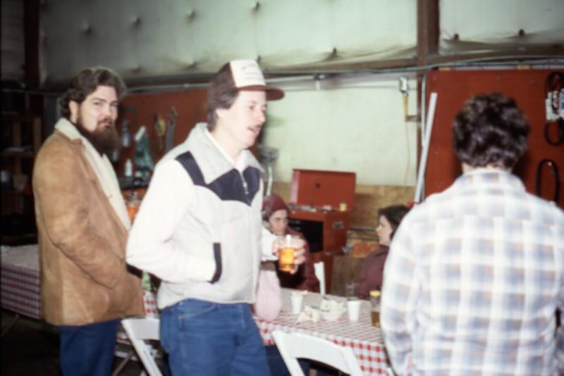 Smock's Carpet Care Christmas Party Jasper, John and Tom Wick Spring Branch 1980's