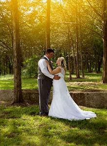 Lorrie & John Bride, Groom, wedding party