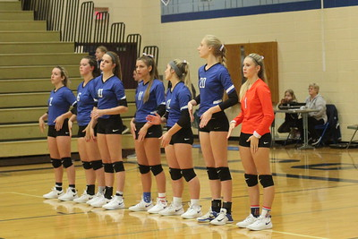 Southwestern @ Mineral Point Volleyball 10-1-18