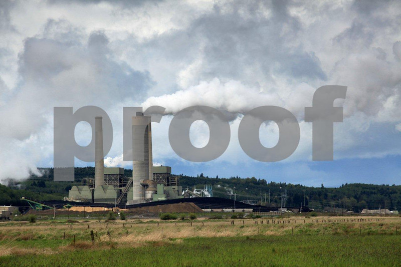 Air quality emissions from the largest coal fired steam electric generator in the West.
