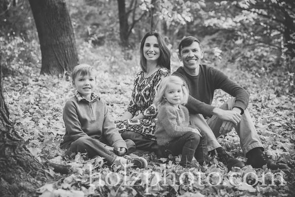 Crider Family 2015 - BW