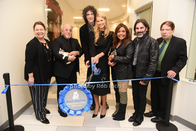 """Celebs enjoy a  private reception and ribbon cutting ceremony for North Shore Animal  League Americas  new adoption center """"Bianca's Furry Friends"""" feedline adoption center in Port Washington New York on October 30th 2019. all photos by Rob Rich/SocietyAl"""